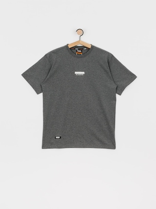 MassDnm Classics Small Logo T-shirt (dk heather grey)