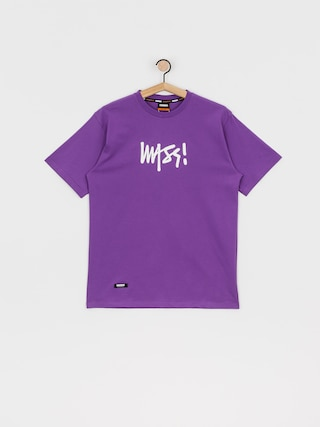 MassDnm Signature Medium Logo T-shirt (purple)