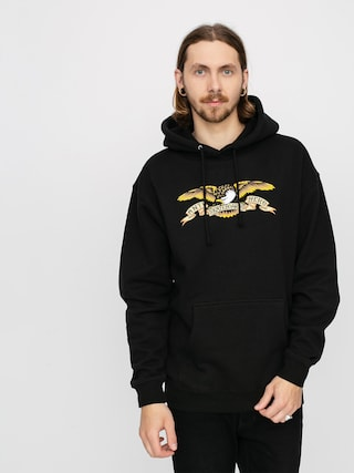Antihero Eagle HD Hoodie (black/gold)
