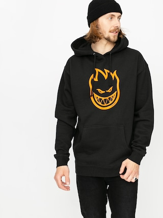 Spitfire Bighead HD Hoodie (black/orange)