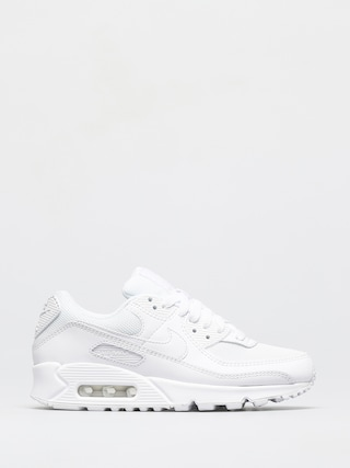 Nike Air Max 90 Shoes Wmn (white/white white wolf grey)