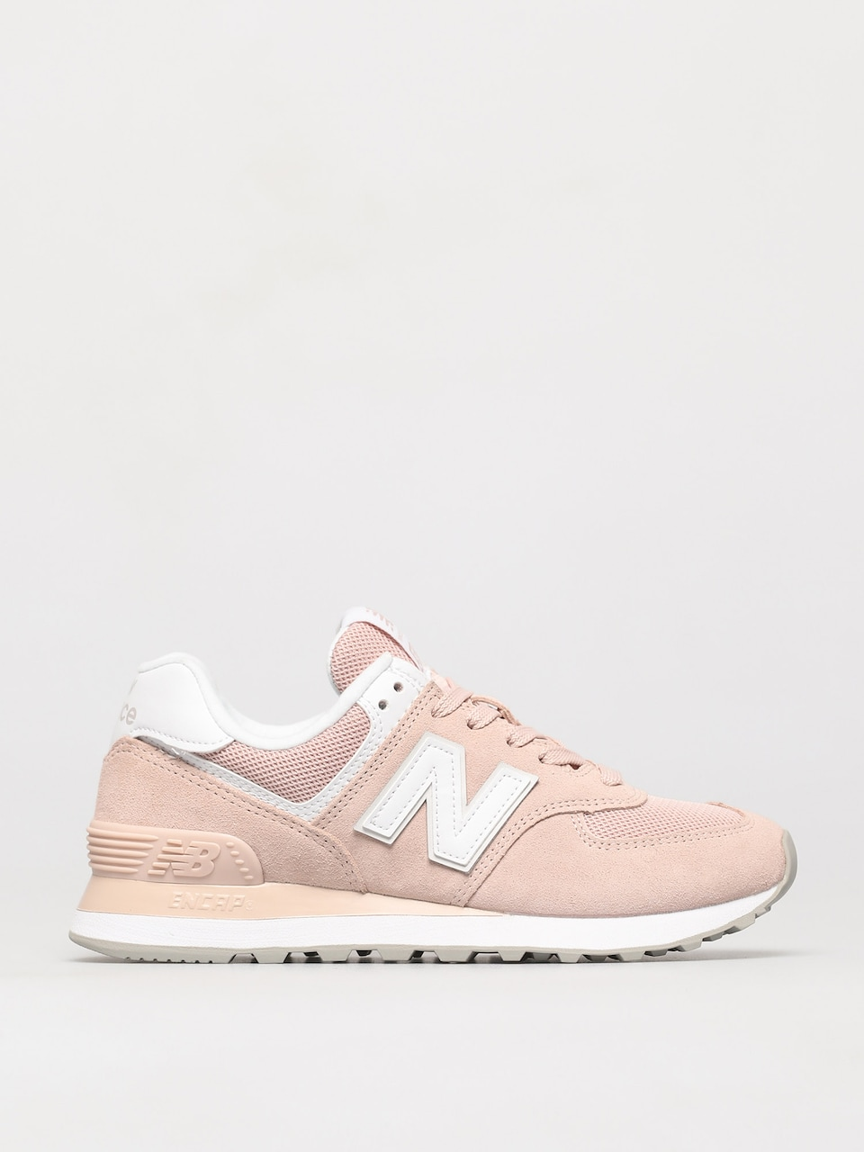 New Balance 574 Shoes Wmn (pink white)