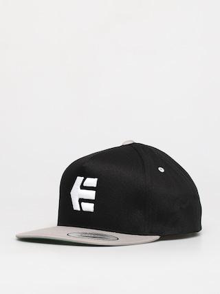 Etnies Icon Snapback ZD Cap (black/silver)