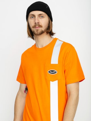 HUF Safety Pocket T-shirt (safety orange)