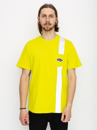 HUF Safety Pocket T-shirt (safety yellow)