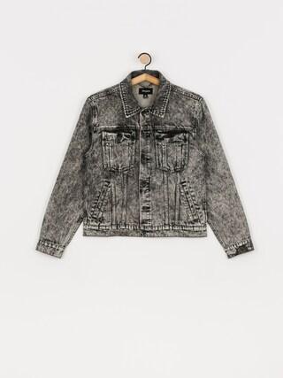 Brixton Cable Denim Jacket (black acid wash)