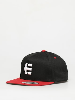Etnies Icon Snapback ZD Cap (black/red)