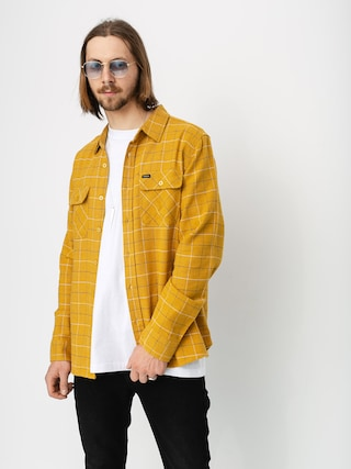 Brixton Bowery Flannel Ls Shirt (honey)