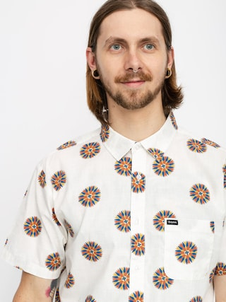 Brixton Charter Print Wvn Shirt (off white/autumn)