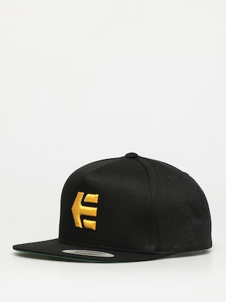Etnies Icon Snapback ZD Cap (black/yellow)