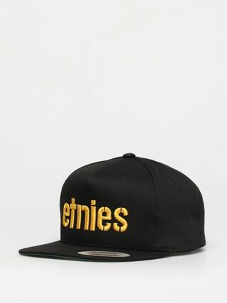 Etnies Corp Snapback ZD Cap (black/yellow)