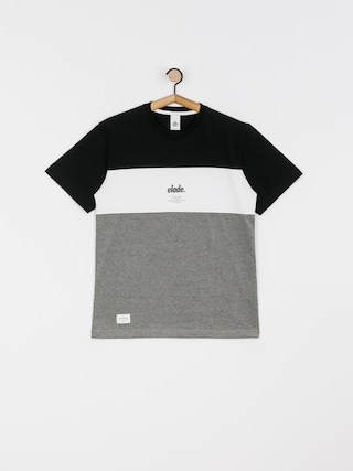 Elade Colour Block T-shirt (black/white/grey)