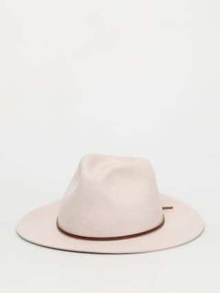 Brixton Wesley Fedora Hat (silver)