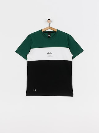 Elade Colour Block T-shirt (green/white/black)