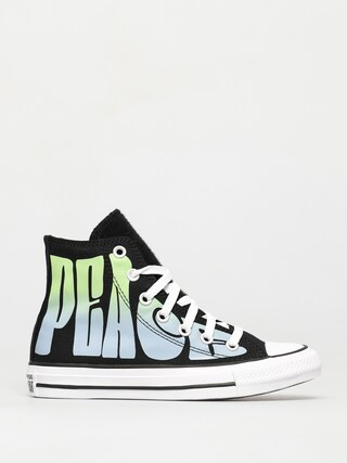 Converse Chuck Taylor All Star Hi Chucks (black/lemongrass/white)