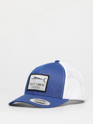 Salty Crew Marlin Mount Retro Trucker ZD Cap (royal/white)
