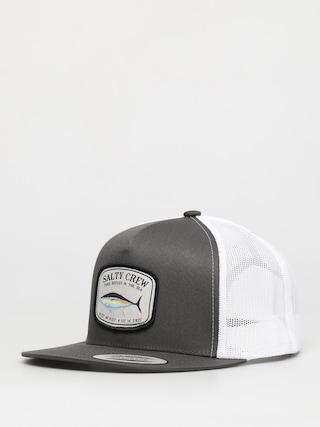 Salty Crew Pacific Trucker ZD Cap (dark grey/white)