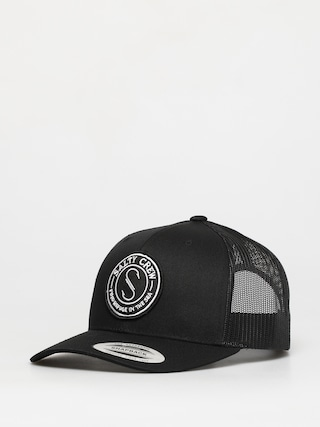 Salty Crew Palomar Retro Trucker ZD Cap (black)