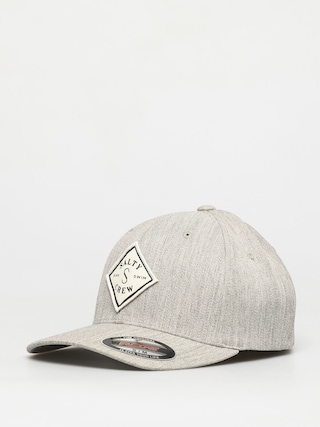 Salty Crew Tippet Stamped 6 Panel ZD Cap (heather grey)