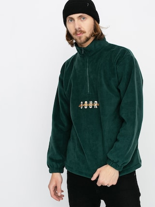 Sour Solution Spothunter Fleece Sweatshirt (forest green)