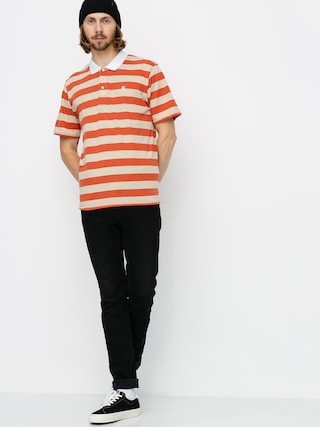 Brixton Hilt II Knit Polo t-shirt (autumn/safari)