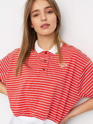 Nike Sportswear Polo t-shirt Wmn (track red)