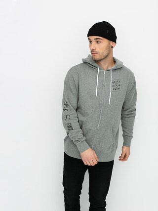 Salty Crew Squared Up ZHD Hoodie (gunmetal heather)