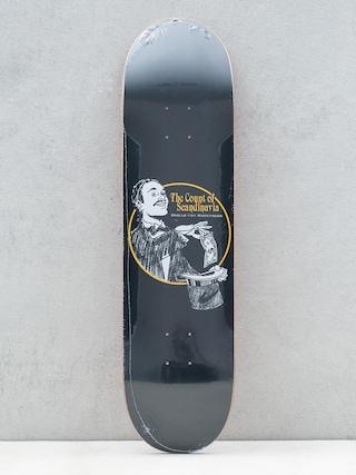 Polar Skate Oskar Rozenberg The Count Deck (black)