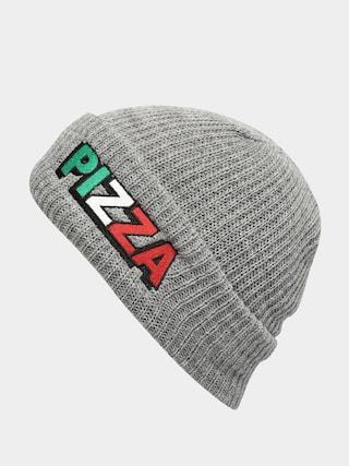 Pizza Skateboards Tri Logo Beanie (grey)