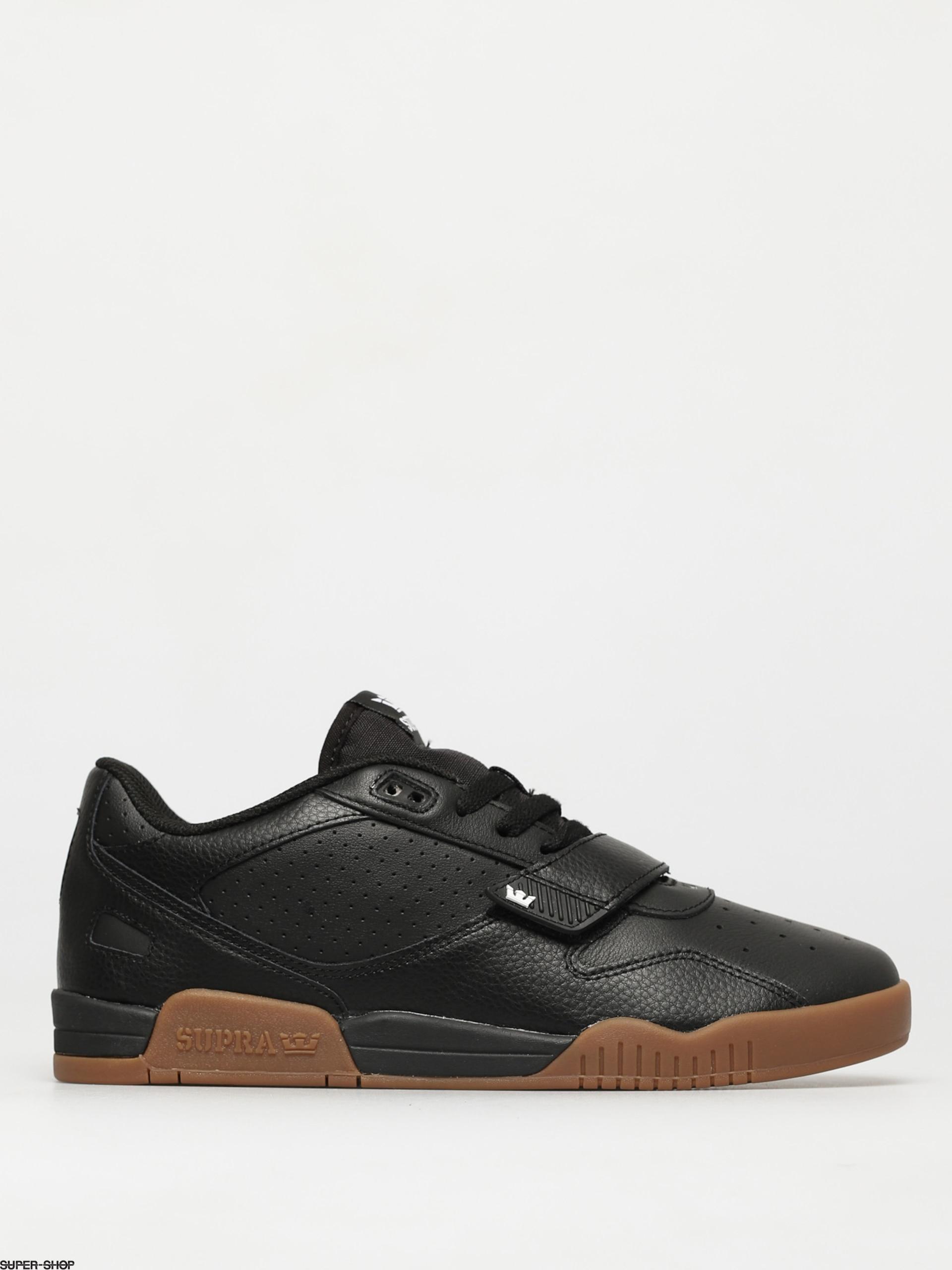 Supra Breaker Low Shoes (black gum)