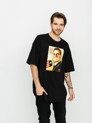OBEY Pay Up Or Shut Up T-shirt (black)