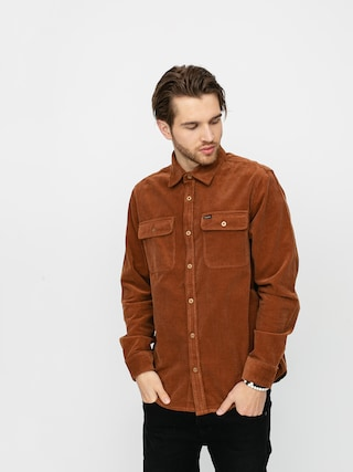 Brixton Bowery Flannel Shirt (hide)