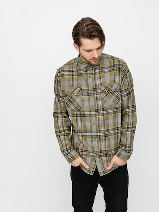 Burton Brighton Flannel Shirt (martini olive somerset plaid)