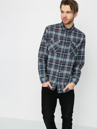 Burton Brighton Flannel Shirt (dress blue somerset)