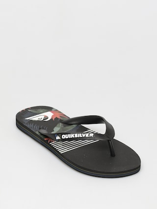 Quiksilver Molokai Jungle Swell Flip-flops (black/grey/black)