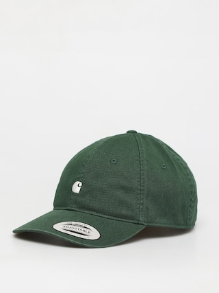 Carhartt WIP Madison Logo ZD Cap (bottle green/wax)