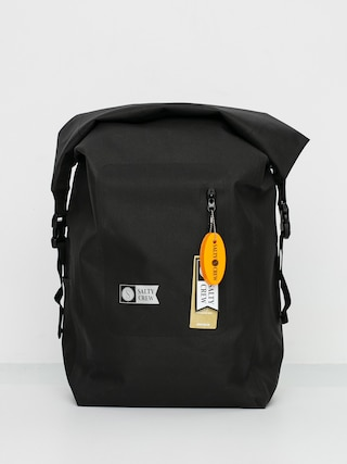 Salty Crew Covert Roll Top Bag Backpack (black)