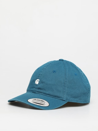 Carhartt WIP Madison Logo ZD Cap (moody blue/wax)