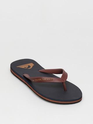 Quiksilver Molokai Flip-flops (red/blue/black)
