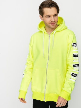 Koka Zipper Cut ZHD Hoodie (green)