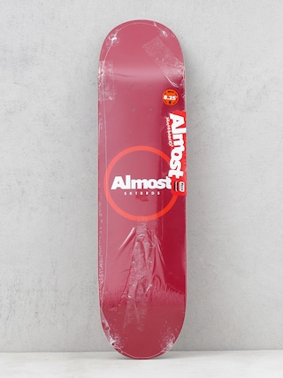 Almost Red Ring Resin Deck (red)