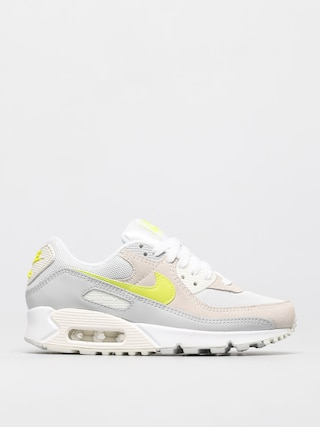Nike Air Max 90 Shoes Wmn (white/lemon venom pure platinum sail)