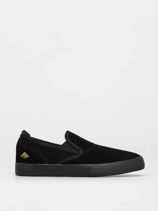 Emerica Wino G6 Slip On Youth Shoes (black/black)
