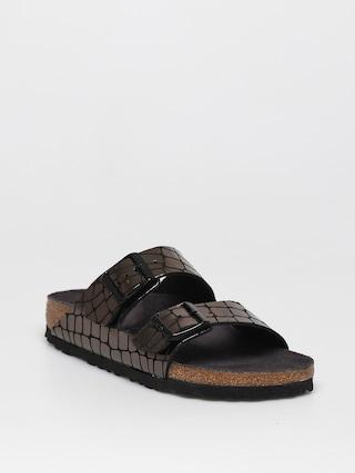 Birkenstock Arizona Sandals Wmn (gator gleam black)