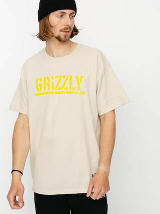 Grizzly Griptape Stamp T-shirt (sand)