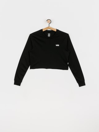 Vans Junior V Crop Longsleeve Wmn (black/white)