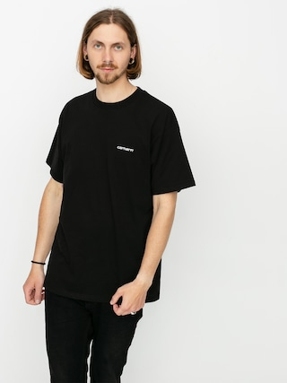 Carhartt WIP Script Embroidery T-shirt (black/white)