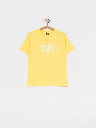 Stussy Og T-shirt Wmn (yellow)