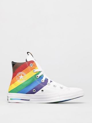 Converse Chuck Taylor All Star Hi Chucks (white/university red)