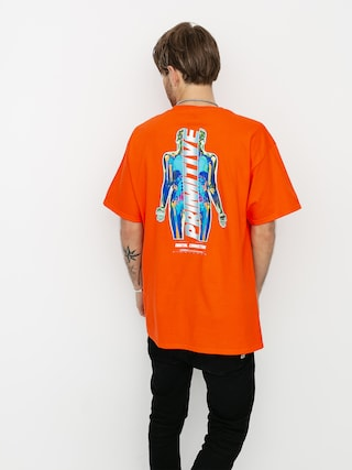 Primitive Connection T-shirt (orange)
